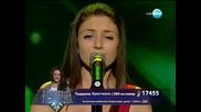Победител! Кристиана Асенова- Хубава си, моя горо-04.06.2014