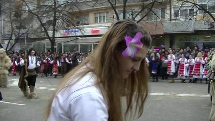 Кукерски фестивал 10.01.2016 Благоевград(кв.грамада 2-ра група)