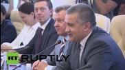 Russia: French MP Mariani meets with Crimean PM in Simferopol