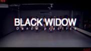 [превод] Pristin - Black Widow