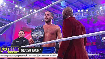Kushida vs. Roderick Strong – NXT Cruiserweight Title Match: WWE NXT 2.0, Sept. 21, 2021