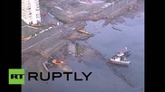 Chile: Drone footage shows destruction wrought by 8.3 quake
