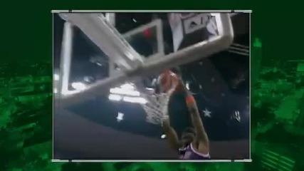 Забивка със завъразни очи!!! Slam Dunk Contest 2012 - Chase Budinger