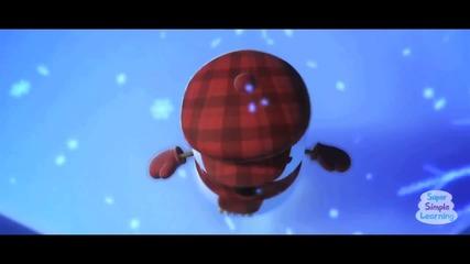 Little Snowflake from Super Simple Songs-малка снежинка-песен