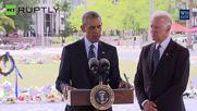 Obama Rails at Pro-Gun Lobby on Orlando Visit Following Mass Shooting