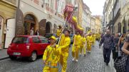 Фалун Дафа парад и демонстрации в Прага, Чехия