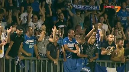 Славиша Йоканович и Сектор Б след мача в Ловеч