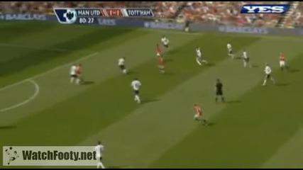 Манчестър Юнайтед - Тотнъм 3:1 24/04/2010 [hq]