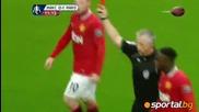 Заслужаваше ли Венсан Компани да получи червен картон срещу Манчестър Юнайтед?