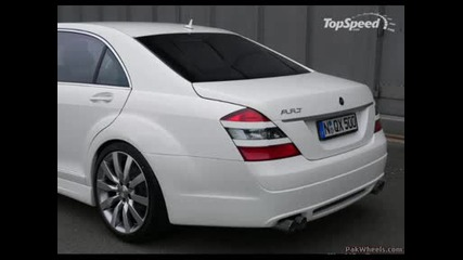 Mercedes - Benz W221 (the New S - Class)