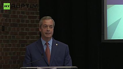 'I Want My Life Back' - Farage Resigns as UKIP Leader