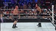 Сет Ролинс срещу Брок Леснар Мач За Световната Титла Wwe Battleground 2015