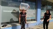 Womens Fitness Clubs of Canada Richmond Hill Als Ice Bucket Challenge!