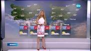 Прогноза за времето (12.07.2015 - сутрешна)