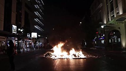 Greece: Clashes erupt during fifth anniversary protest for Killah P