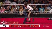 Top 10 Wwe Raw moments - May 18, 2015