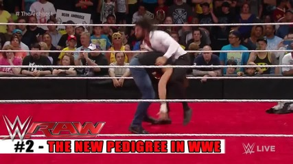 Top 10 Wwe Raw moments - May 18, 2015
