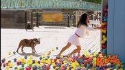 Шега с много цветни топки - Скрита камера
