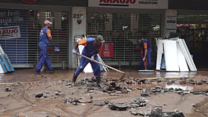 Brazil: Belo Horizonte wakes to chaos after more flooding