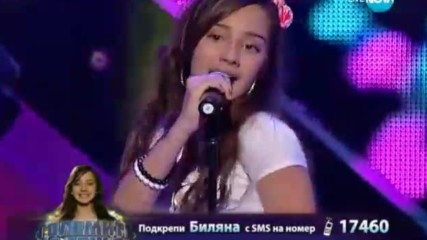 Биляна Лазарова - Големите надежди 1/4-финал - 14.05.2014 г.