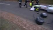 Мечка напада екип на Формула 1