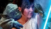 Yoda fuck Princess Lea