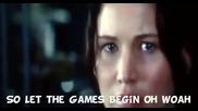 Arshad Girl on Fire ( Превод)(the Hunger Games) Lyrics