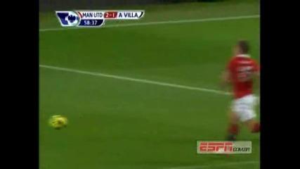Manchester United 3 - 1 Aston Villa High