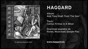 Haggard - Cantus Firmus In A Minor