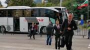 ЦСКА замина за решителния мач с Базел