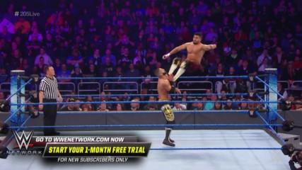 Raul Mendoza vs. Ariya Daivari: WWE 205 Live, Dec. 13, 2019