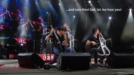 2cellos - Satisfaction Live Video