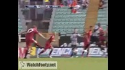 Ф Е Н О М Е Н А Л Е Н гол на Йо Арне Рийзе който подпечата победата над Сиена с 1:2