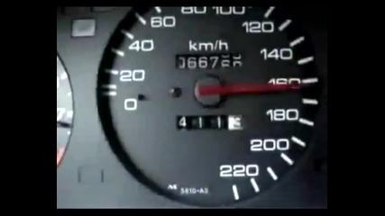 Honda Civic 0-200 km/h