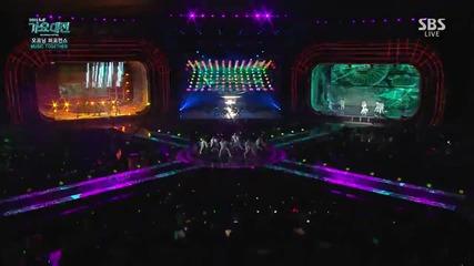151227 Opening Performance - B.a.p @ Sbs Gayo Daejun