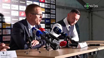 Валдас Дамбраускас: Не съм изненадан от Мура, очаквам същия мач в Разград