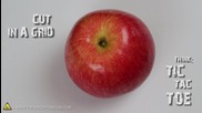 5 лесни начина за рязане на ябълка и предпазване от покафеняване