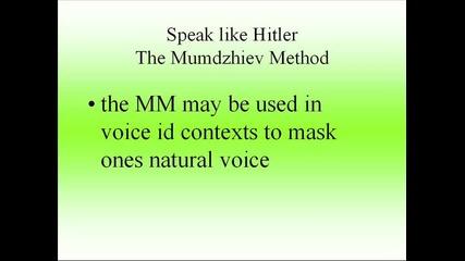 Speak like Hitler