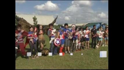 Модно шоу за кучета - супергерои се проведе във Филипините