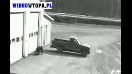 Некадърен опит за крадене на кола