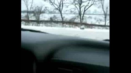 Първи Сняг За Голф.avi