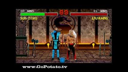 Mortal Kombat - Finish Him Пародия [ Бг субтитри ]