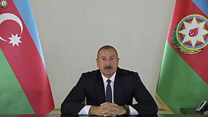Azerbaijan: President Ilham Aliyev addresses nation after conflict erupts in Nagorno-Karabakh