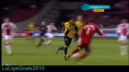 Аякс 4 - 1 Нак Бреда [27.01.2011] ( Всички Голове )
