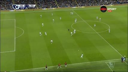 Манчестър Сити - Тотнъм 1:2, Висша лига, 26-и кръг