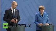 Germany: EU-Ukraine Association Agreement not against Russia - Merkel