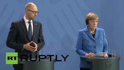 Germany: EU-Ukraine Association Agreement not against Russia - Merkel