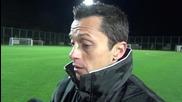 Христо Янев: Победата бе важна за самочувствието на играчите (ВИДЕО)