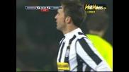 Ювентус 1 - 2 Рома всички голове
