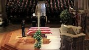 USA: Mourners pay respects at George HW Bush's funeral